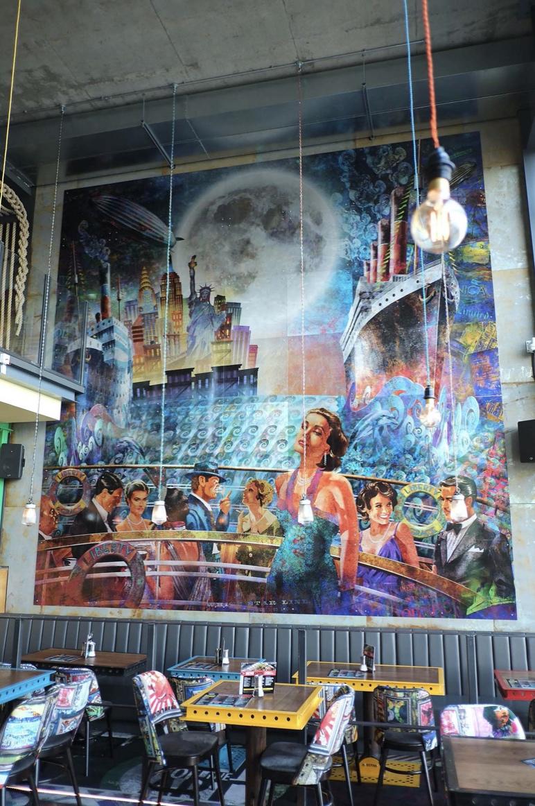 Restaurant Wall