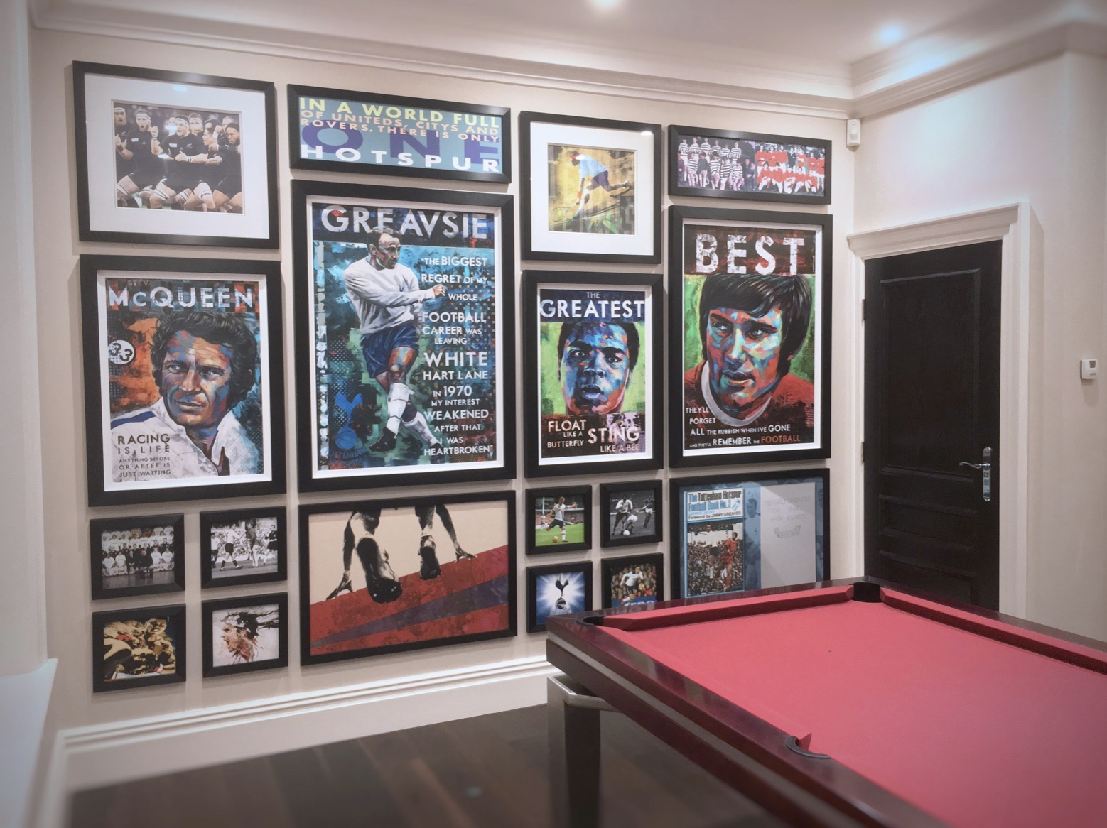 Games Room Wall