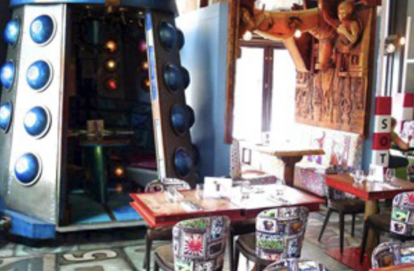 Dalek Restaurant Booth
